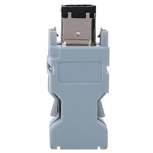 Mxzzand Suministros eléctricos de Conector servo Industrial 4 Piezas ignífugas para conexión...