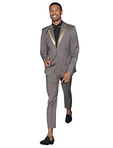 FRANK Herren Slim Fit 2 Stück Anzug für Männer Zwei Knöpfe Lässig/Formell/Hochzeit Smoking