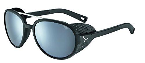Cébé Summit Gafas de Sol, Unisex Adulto, Matt Black/Silver, Medium