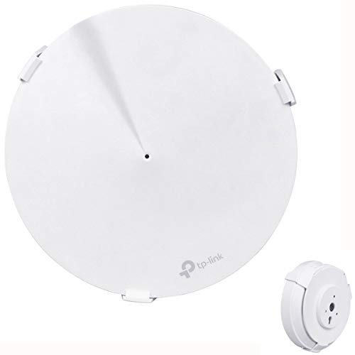 BECROWMEU Wandhouder voor TP-Link Deco M9 Hele Home Mesh WiFi Systeem Routers, TP-Link Deco M9 Plus Wifi Wandsteun Plafond Beveiliging Houder Stand, 1 exemplaar