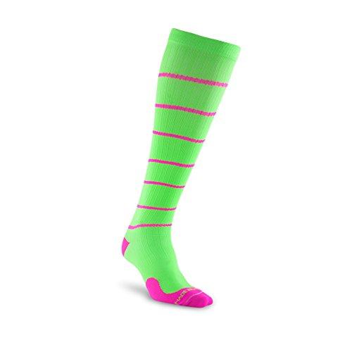 Pro Compression : Chaussettes de compression Marathon (longueur, au-dessus du mollet), 1 paire - - moyen