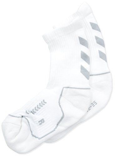 hummel Kinder Advanced Indoor Socke, weiss / grau, 32 - 35 ( 8 ), 21-058, 9391