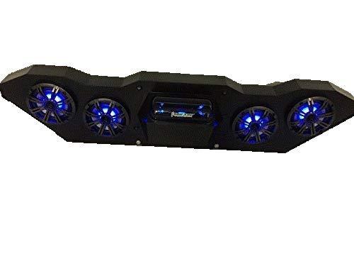 """SD KT4BBT4RGB-Kawasaki Teryx Stereo System BT (4-6.5"""" Marine Speakers)"""