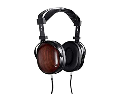 MONOPRICE Monolith M565C Over Ear Planar Magnetic Headphones - Black/Wood With 106mm Driver, Closed Back Design, Comfort Ear Pads For Studio/Professional