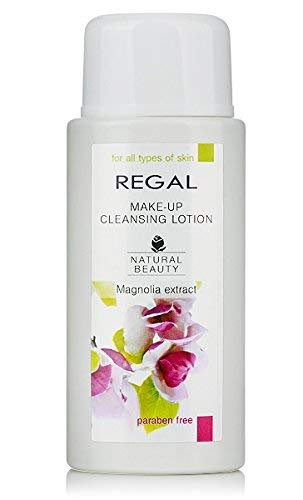 Regal Natural Beauty - Lotion démaquillant pour tous les types de peau sans Paraben