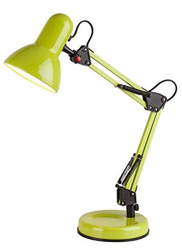 Schreibtischlampe grün, Kinder, Samson, E27, leuchtenladen, Tischlampe