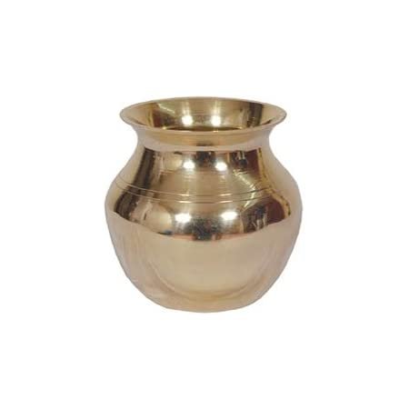 Shubhkart 100/% Copper Kalash Indian Lota 8.5 x 8.5 cm Medium