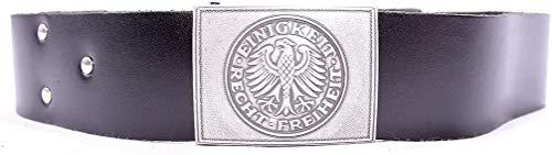 Mil-Tec BW Dienstkoppel Leder mit Schloss Gr.120