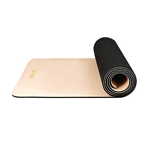 Retrospec Laguna Yoga Mat for Men & Women - Non Slip Excercise Mat for Yoga, Pilates, Stretching, Floor & Fitness Workouts, Quartz, Model:3549