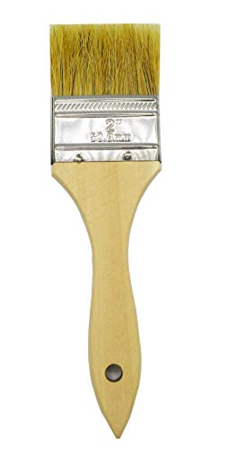 Cambridge 2-in Chip Brushes, 12 Pack; Use with Paint, Stain, Gesso, Glue, Varnish and Acrylic