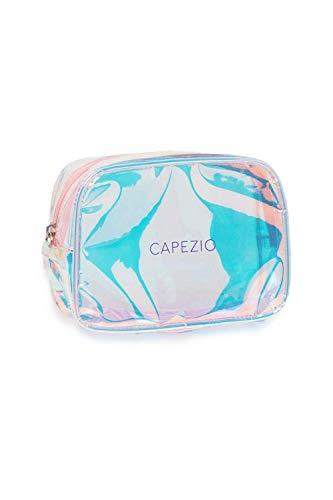 Capezio Hologramm Make Up Tasche One Size Silber Hologramm