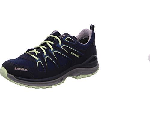 Lowa Damen Sportschuhe Innox Evo GTX Low Damen Wanderschuhe schwarz blau 320616 blau 71684