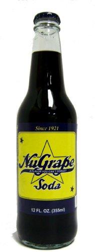 (Retro) Nugrape Made with Real Cane Sugar 12 Pack