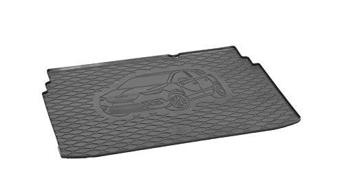 Kofferraumwanne ideal angepasst geeignet für Opel Crossland X ab 2017 Schwarz