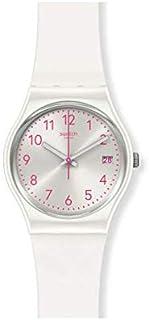 ساعة سواتش للنساء انالوج كوارتز بسوار سيليكون GW411