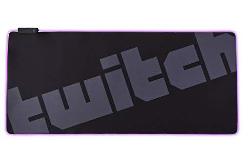 Twitch(ツイッチ) マウスパッド RGBイルミネーション XXLサイズ ゲーミング用