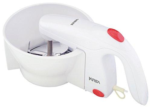 KREA PM160 Pelador mecánico Blanco pelador - Peladores (Pelador mecánico, Acero Inoxidable,...