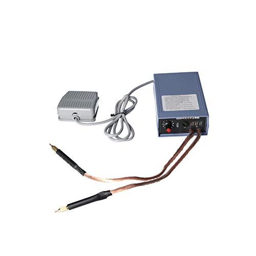 GoolRC Kit de Soldadura por Puntos de Batería de 5000 W Máquina de Soldadura de Batería Ajustable para Soldadura de Paquete de Batería de Litio 18650 Tira de Níquel de 0,2 mm, Enchufe de la UE