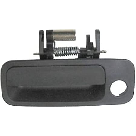 Exterior Front LH Driver Door Handle with Key Hole Replacement for Camry 1997 1998 1999 2000 2001 Lexus ES300 Base Replace# OE 6922033040 79426 Silver