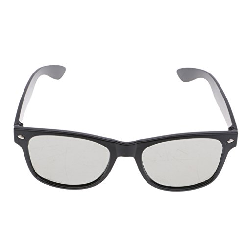 Generic Passive 3D Brille Für LG, Vizio Und Alle Passive 3D Fernseher Und RealD 3D Cinema Brillen - schwarz