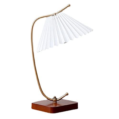Lámpara de mesa de mesa de noche antigua china lámpara de noche de la cama de escritorio, usado para la sala de estar estudiando la decoración de la oficina de la oficina de protección de los ojos lám