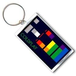 Coldplay X & Y Album Schlüsselanhänger Offizielle Lizenzierte Produkte