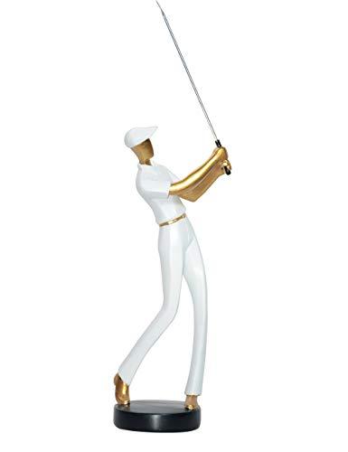 Amoy-Art Golf Figurine Statue Sculpture Golfeur Animal Décoration Maison Cadeau Ameublement...