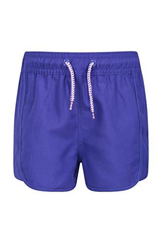Mountain Warehouse Pantalones Cortos Panama para niñas - Pantalones Ligeros de Playa - Cordón Ajustable - Cintura elástica - Ajustables - Ideales para Las Vacaciones