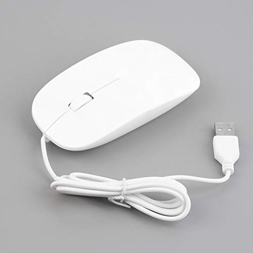 Sophisticated Optical Engine 2.4GHz 3D 1200dpi Wired Optical Mouse Ultra Slim 4 Colors High Quality Mice USB for PC Laptop