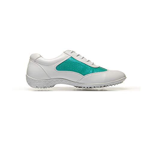 CGBF-Calzado de Golf Calzado Deportivo Impermeable Ultraligero para Mujer Calzado Casual Antideslizante Transpirable,A,38 EU