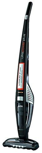 AEG ECO Li 50 UltraPower AG 5020 Handstaubsauger (beutellos, 21,6 V Lithium-Power-Akku, patentierte Bürstenrollen-Selbstreinigungsfunktion, Elektrobürste, 4 helle LED-Frontlicher) Schwarz