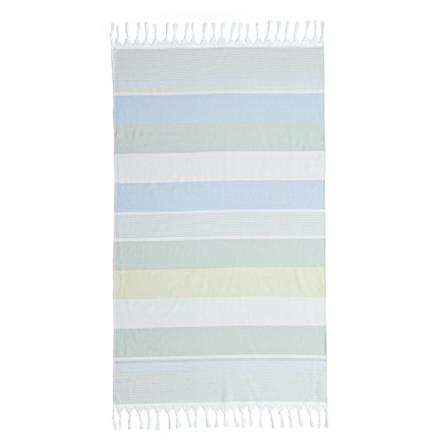 Linum Home Textiles Turkish Cotton Summer Loving Pestemal, Peshtemal, Fota Beach Bath Towel