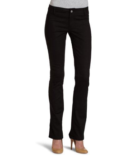 Dickies Girl Junior's Dealer No Pocket Straight Leg Pant,Black,3