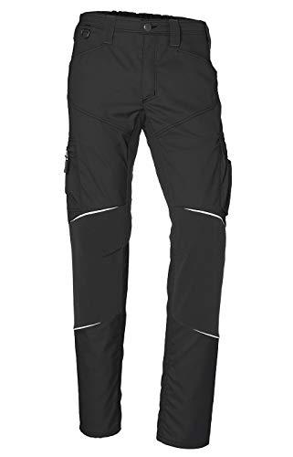 KÜBLER ACTIVIQ - Pantalones de trabajo elásticos para hombre Negro  66 ES