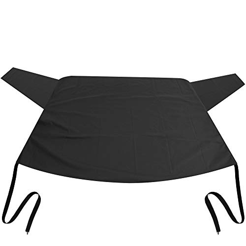 OxGord Rear Windshield Snow Cover Ice Removal Wiper Visor Protector All Weather Winter Summer Auto...