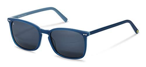 Rodenstock Sonnenbrille Youngline Sun RR335 (Herren), leichte Sonnenbrille, eckige Sonnenbrille mit Acetat-Kunststofffassung