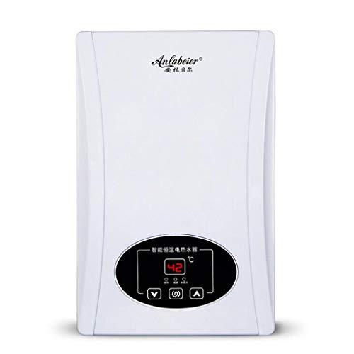 Calentador de Agua Caliente de Temperatura Constante de baño instantáneo electrónico de 8KW con Pantalla LCD