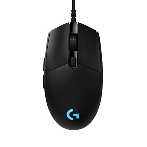Logicool G ゲーミングマウス G-PPD-001r ブラック usb 有線 83g 軽量 ゲームマウス HERO16Kセンサー LIGH...