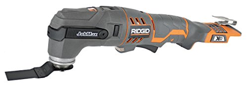 Ridgid R862005 18V JobMax Base and Multi-Tool Head (Battery Not Included, Power Tool Only)