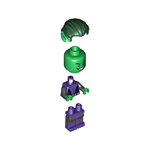 LEGO DC Comics Super Heroes Minifigure - Beast Boy Teen Titan with Snake (76035)