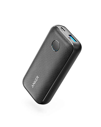 Anker [Upgraded] PowerCore 10000 Redux, Ultra-Small and Compact 12W Portable Charger, 10000mAh Power Bank, PowerIQ External Battery Pack for iPhone, Samsung Galaxy, and More (Renewed)