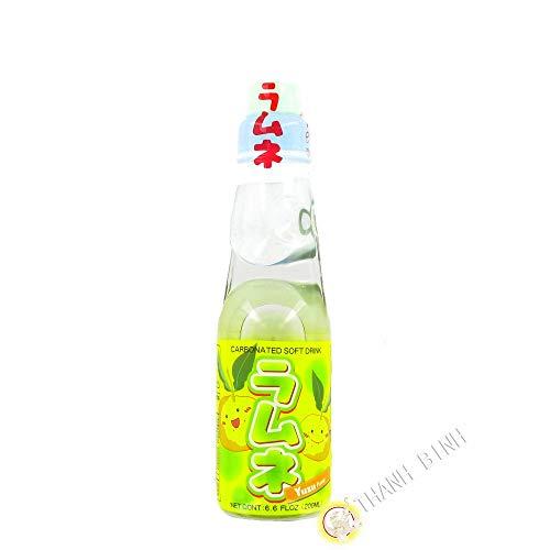Limonade japanische ramune yuzu CTC 200ml Japan - Pack 6 stück