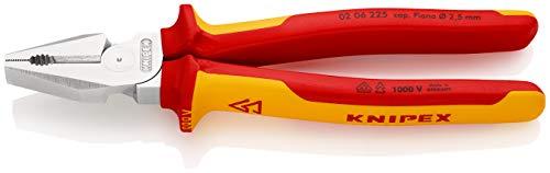 KNIPEX Alicate universal de fuerza aislado 1000V (225 mm) 02 06 225