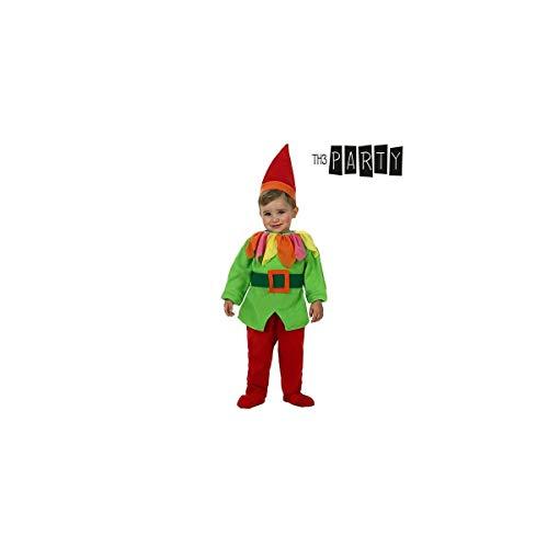Atosa-52783 Disfraz Duende, Color Verde, 12 a 24 Meses (52783)