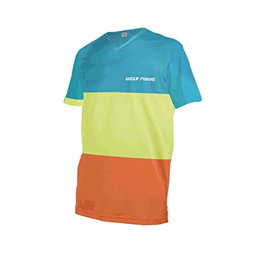 Uglyfrog Bike Wear Mens Downhill Motocross Jersey Rage MTB Cycling Top Cycle Short Sleeve Summer Mountain Bike Shirt