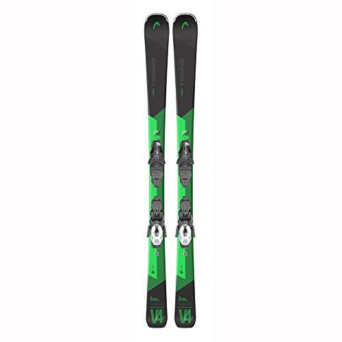 HEAD – Pack de esquí V-Shape V4 XL LYT-pr + fijaciones Pr 11 Gw Hombre – Hombre – Talla 163 – Verde