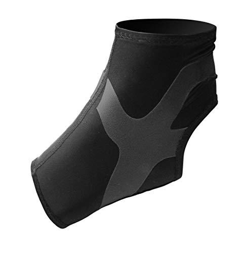 Ultraleicht Ankle Support Plus, Fußgelenk Bandage mit Power-Band Stabilisator Tape - schwarzes Tape - rechter Fuß