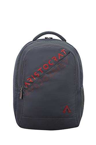 Aristocrat 45 cms Grey Casual Backpack (Trax)