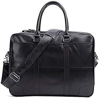 حقيبة ظهر من Chliuchihjklstb، حقيبة يد للرجال 15.6 بوصة حقيبة كمبيوتر محمول حقيبة كتف حقيبة يد (اللون: أسود)