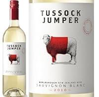 [Tussock Jumper] タサック・ジャンパー、 ソーヴィニュン・ブラン 2014 (白) 750ml ヒツジのラベル/ニュージーランド